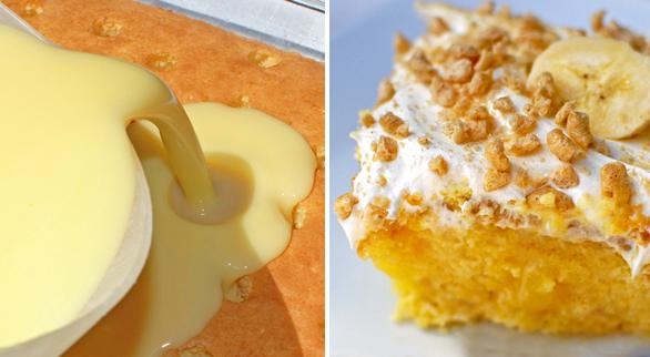 Betty Crocker Banana Cream Poke Cake